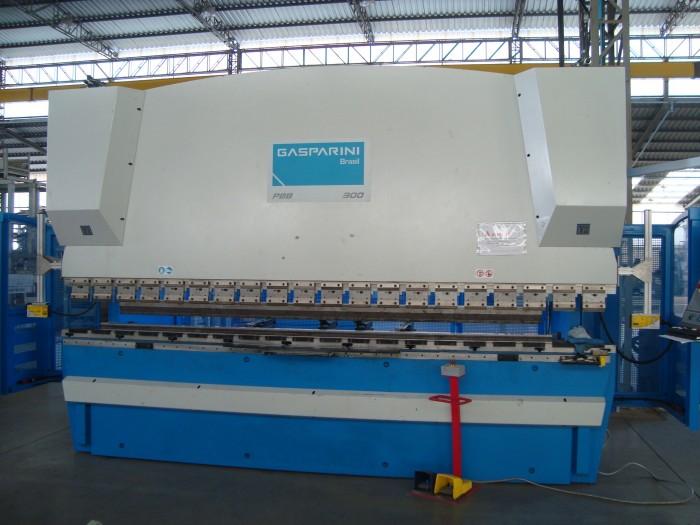 VIRADEIRA CNC GASPARINI 300TON X 4.000 MM
