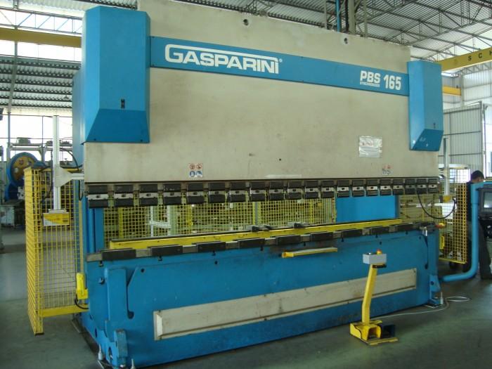 VIRADEIRA CNC GASPARINI 165TON X 3.000 MM