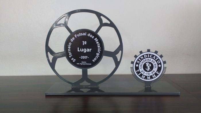 Troféu de 1º lugar!
