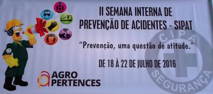 II Semana Interna de Prevenção de Acidentes de Trabalho