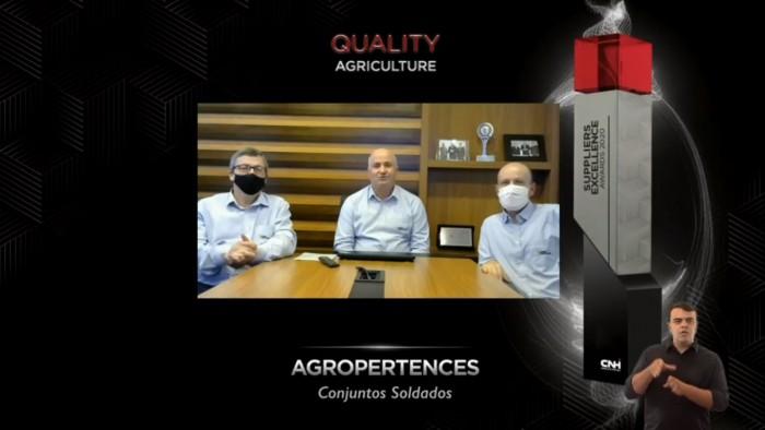 Agro-Pertences recebe prêmio da CNH Industrial América Latina